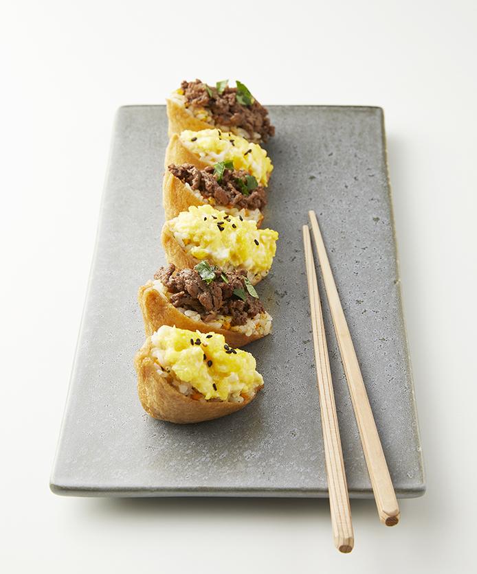 2색유부초밥