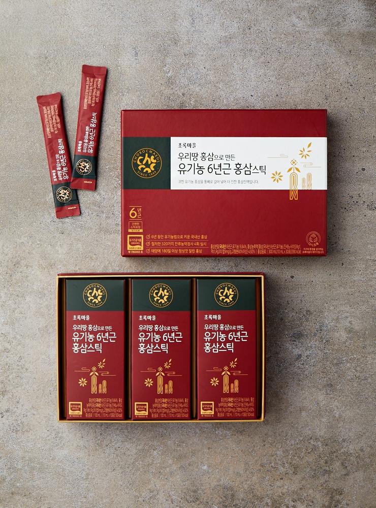 유기농6년근홍삼스틱(10mLx30포)