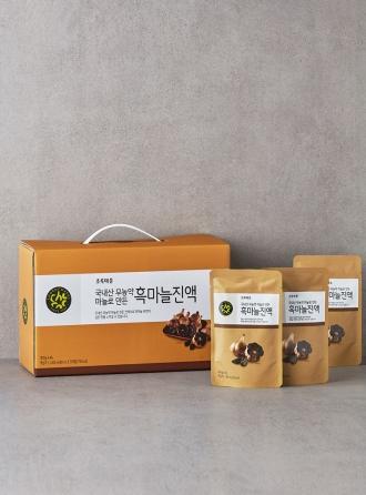 국내산무농약마늘로만든흑마늘진액(80mLx30포)