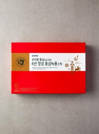 6년근정성홍삼녹용스틱(10gx30포)