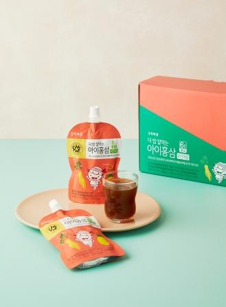 더밥잘먹는아이홍삼(파인애플/100mLx10개입)