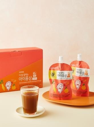 더밥잘먹는아이홍삼(오렌지/100mLx10개입)