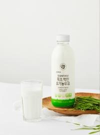 동물복지 목장 목초 먹인 유기농우유(750mL)